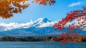 Der Fujisan in Autumn Color, Japan Lizenzfreies Stockfoto