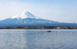 Der Fujisan morgens, Japan Stockfotografie