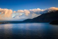 Der Fujisan und See Motosu Stockfotografie