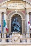 Der Gönner von Bologna, Heiliges petronio Lizenzfreies Stockfoto