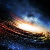 Der Galaxie-Hintergrund Lizenzfreie Stockbilder