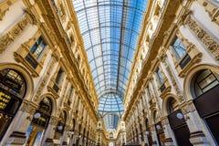 Der Galleria Vittorio Emanuele II in Mailand Lizenzfreie Stockbilder