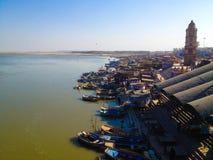 Der Ganges Stockbild