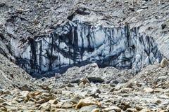 Der Ganges-Gletscher lizenzfreie stockfotografie