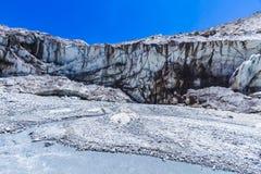 Der Ganges-Gletscher lizenzfreie stockbilder