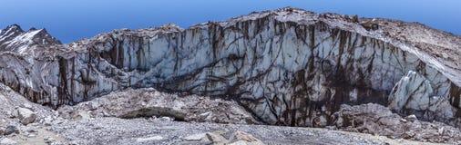 Der Ganges-Gletscher Stockfotografie