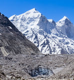 Der Ganges-Gletscher - indischer Himalaja Stockfotos