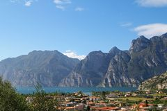Der Garda See (Lago di Garda) in Italien Lizenzfreies Stockfoto