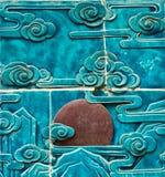Der Garten-Drache Wall006 des Kaisers Stockfotos