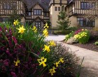 Der Gartenpfad Stockbilder