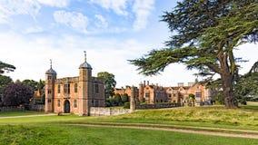 Der Gatehouse, Charlecote-Haus, Warwickshire, England Lizenzfreie Stockbilder