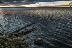 An der gebürtigen Küste stockfoto
