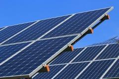 Der Gebrauch von Sonnenenergie Lizenzfreie Stockfotos