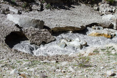 Der gefrorene Ganges Lizenzfreie Stockfotografie