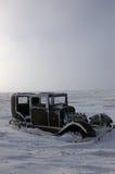 Der gefrorene Hudson stockbilder