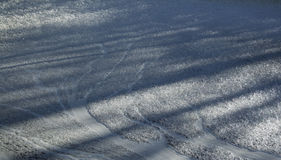 Der gefrorene Schaum Lizenzfreie Stockfotos