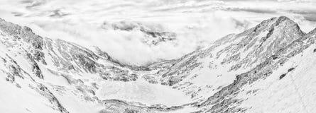 Der gefrorene See lizenzfreies stockbild