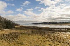 Der gefrorene See Stockbild