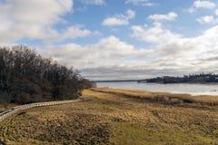 Der gefrorene See Stockbilder