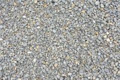 Der Gehweg ist ein kleiner grauer Stein Lizenzfreies Stockbild