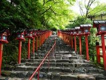 Der Gehweg vor Kifunezhizinzia Stockbilder