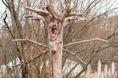 Der Geist des Waldes stockbild