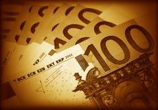 Der Geldeuro Lizenzfreie Stockbilder