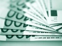 Der Geldeuro Lizenzfreie Stockfotos