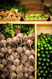 Der Gemüsemarkt Stockfoto