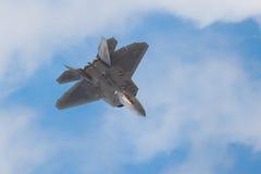 Der General DynamicsF-16kämpfende Falke ist ein multirole Strahlen-Kampfflugzeug, das ursprünglich durch General Dynamics für die stockfotografie