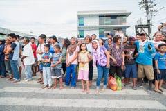 Der 17. Gensan Tuna Festival Lizenzfreie Stockfotografie