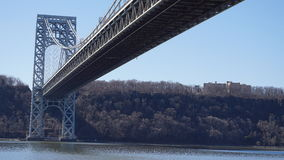 Der George Washington Bridge 65 Lizenzfreie Stockbilder