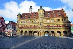 der Germany ob rothenburg tauber Obraz Royalty Free