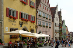 der Germany ob rothenburg tauber Fotografia Royalty Free