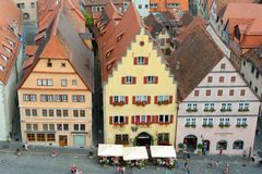 der Germany ob rothenburg tauber Obrazy Royalty Free