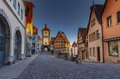 der Germany ob rothenburg tauber fotografia stock