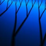 Der gestorbene Wald. vektor abbildung