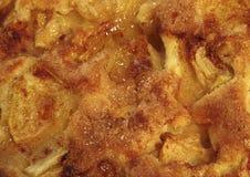 Der gesunde Apfelkuchen. Stockfoto