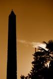 Der geummauerte Obelisk Stockfotografie