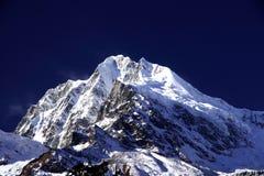 Der Gipfel des Berges der Klingel-GA in Sichuan China Lizenzfreies Stockfoto