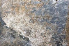 Der Gips einer alten Wand Stockfoto