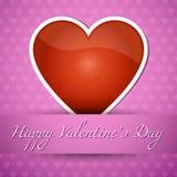 Der glückliche Tag der Valentiness Stockbild
