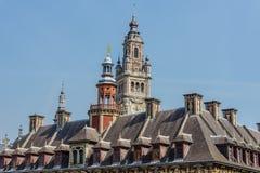 Der Glockenturm der Handelskammer Stockfotos