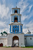Der Glockenturm des Nikitsky-Klosters, Pereslavl-Zalessky, Ru Stockfoto