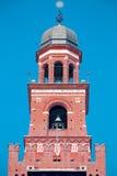 Der Glockenturm von Sforza-Schloss, Mailand Stockbilder
