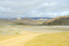 Der Gobi von Tibet Stockfotografie