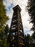 Der Goethe-Turm in Frankfurt, Deutschland Lizenzfreies Stockfoto