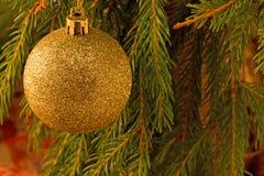 der goldene Ball und die neue Jastimme Stockbild