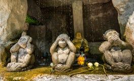 Der goldene Berg bei Wat Saket, Reise-Markstein von Bangkok THAILA Lizenzfreie Stockfotografie