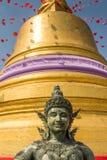 Der goldene Berg bei Wat Saket, Reise-Markstein von Bangkok THAILA Lizenzfreies Stockfoto